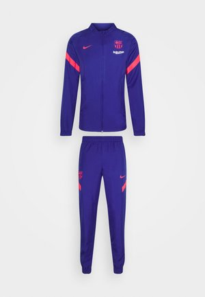 FC BARCELONA MNK DRY SET - Klubbkläder - deep royal blue/lt fusion red