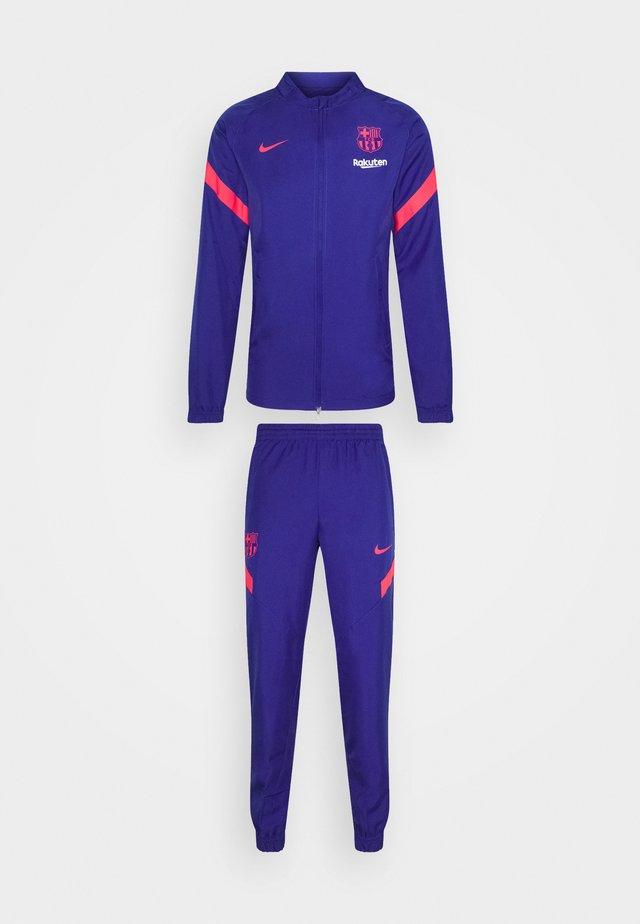 FC BARCELONA MNK DRY SET - Squadra - deep royal blue/lt fusion red