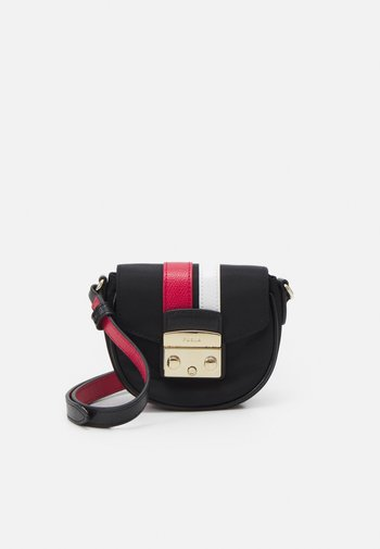 METROPOLIS MICRO BAG - Across body bag - nero/ruby/talco