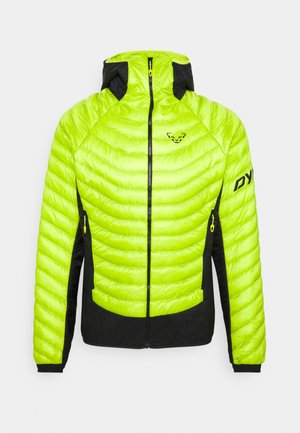 LIGHT HOODED - Outdoorjas - lime punch