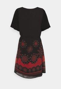 Desigual - VEST TAMPA - Sukienka letnia - black - 6