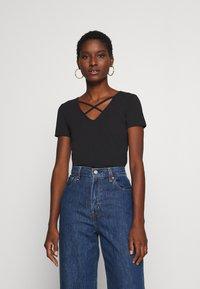 Anna Field - T-shirt print - black - 0