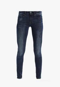 G-Star - MIDGE ZIP MID SKINNY  - Jeans Skinny Fit - neutro stretch denim - 5