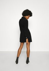 Tommy Jeans - FITTED DRESS - Shirt dress - black - 2