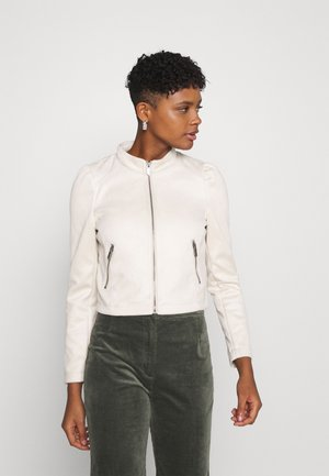 ONLSHELBY CROP BONDED JACKET  - Faux leather jacket - moonbeam