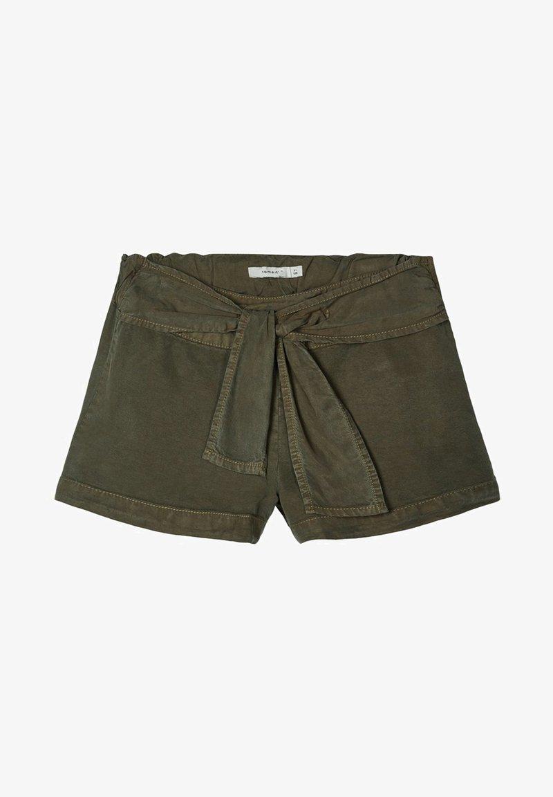 Name it - Denim shorts - ivy green
