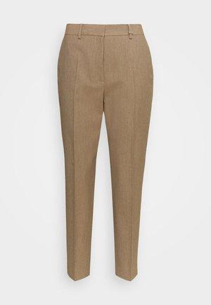 CIGARETTE TAILORED PANT - Kalhoty - hazel melange