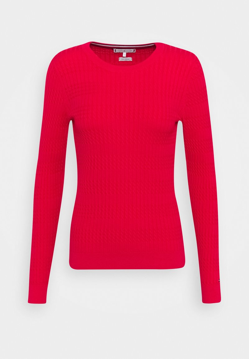 Tommy Hilfiger - ESS CABLE - Jumper - cornell red