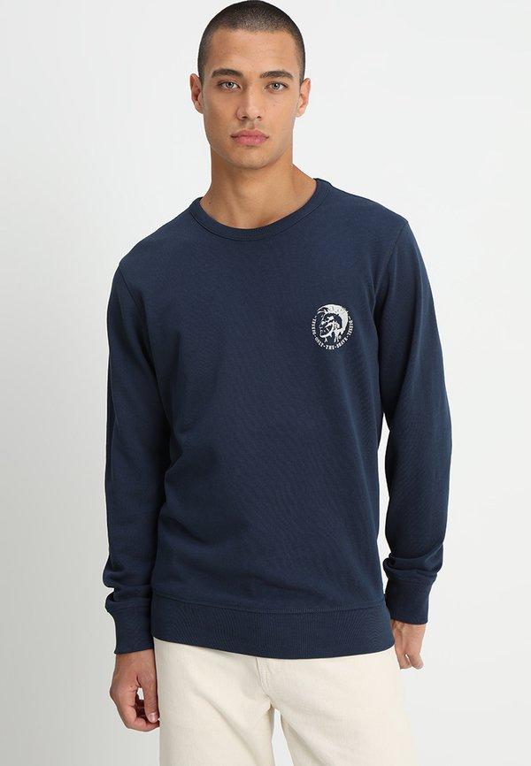 Diesel UMLT-WILLY SWEAT-SHIRT - Bluza - blau/granatowy Odzież Męska JJLV