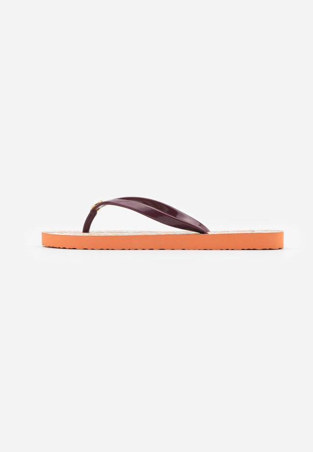 THIN - Teenslippers - imperial garnet/wonderland vine