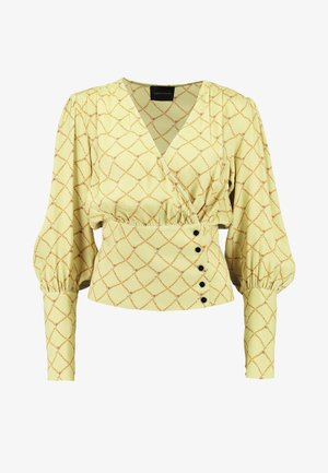 MIE BLOUSE - Bluser - pastel yellow
