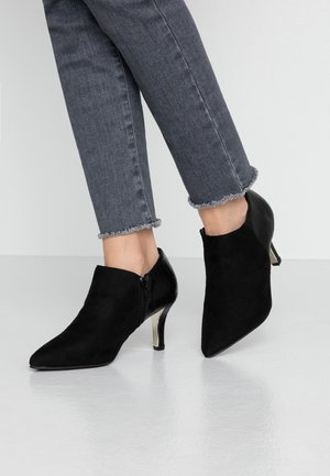 WIDE FIT ROBOTIC - Ankle boots - black