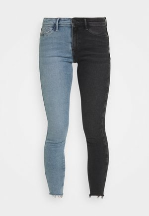 Jeansy Skinny Fit - mid auth/black