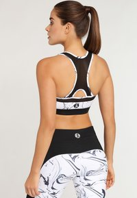 LASCANA Active - Sport BH - white marbled - 2
