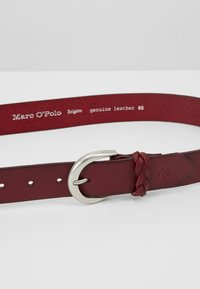 Marc O'Polo - BELT LADIES - Belt - berry red - 5