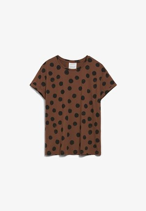 Print T-shirt - cacao