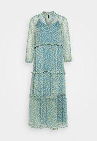 YAS - YASCLARIS LONG SUMMER DRESS  - Maxi dress - blue heaven/claris - 0