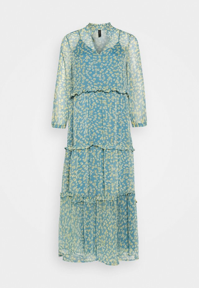 YASCLARIS LONG SUMMER DRESS  - Maxi-jurk - blue heaven/claris