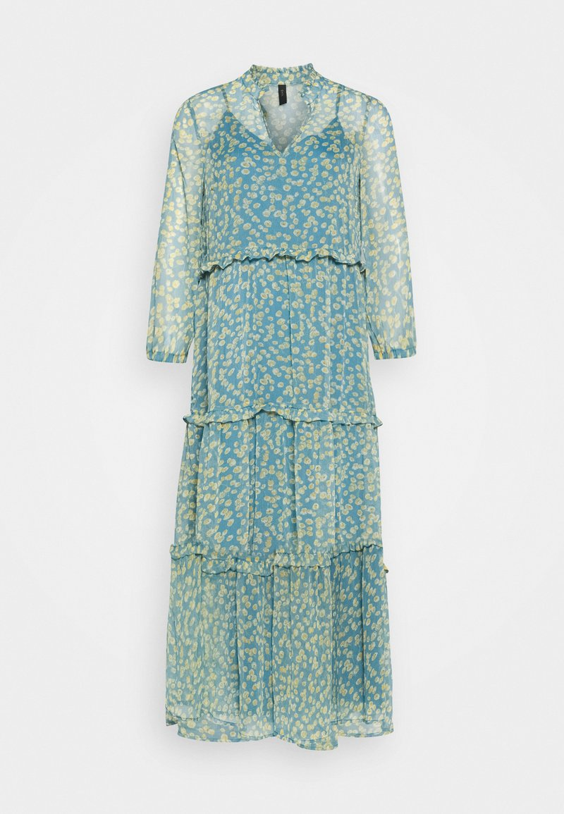 YAS - YASCLARIS LONG SUMMER DRESS  - Maxi dress - blue heaven/claris
