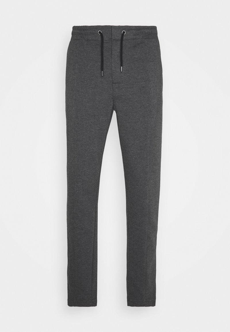 Zign - Pintuck Pleat - Tracksuit bottoms - mottled grey