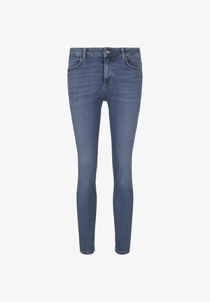 TOM TAILOR JEANSHOSEN KATE SLIM JEANS - Slim fit jeans - dark blue denim