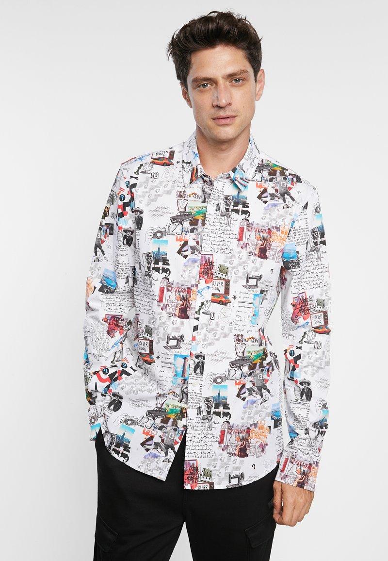 Desigual - CAM ABELARDO - Shirt - white