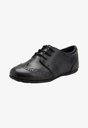 Zapatos con cordones - black