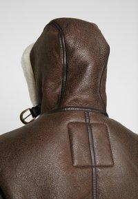 Schott - Leather jacket - brown - 4