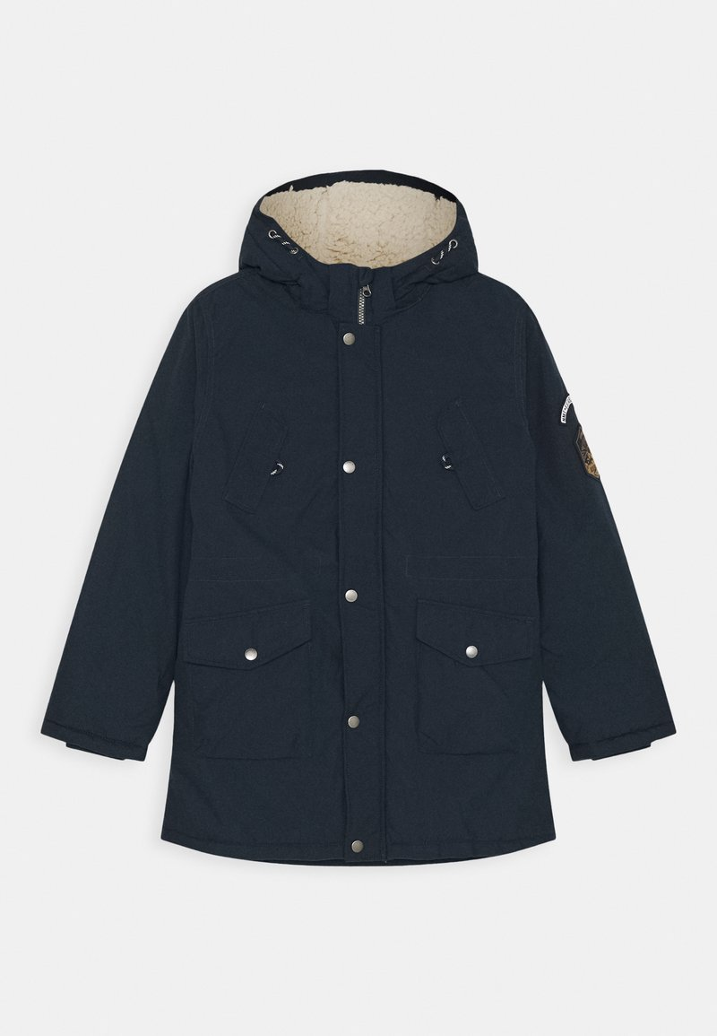 Name it - NKMMACK PARKA JACKET NOOS - Winterjas - dark sapphire