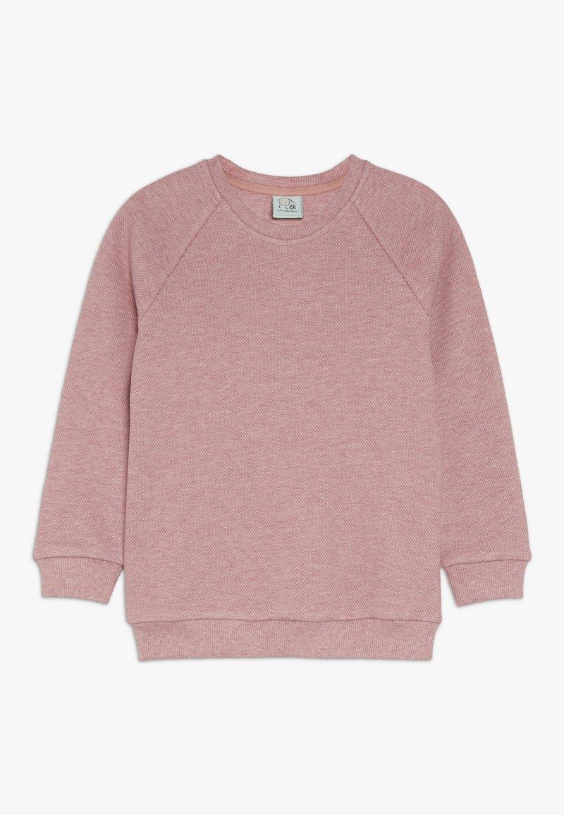 igi natur - KIDS RAGLAN  - Sweatshirts - persian red melange
