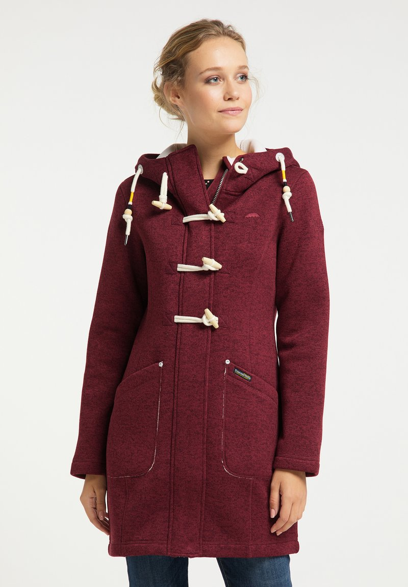 Schmuddelwedda - Short coat - bordeaux melange