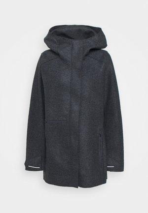 AINSWORTH HOODED JACKET - Short coat - jet heather