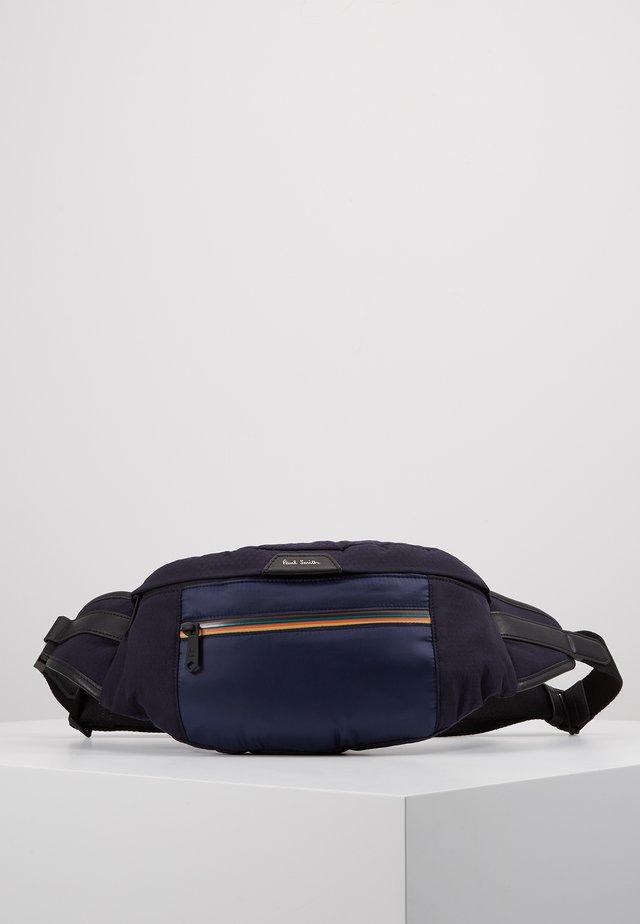 WAISTBAG STRIPE ZIP - Across body bag - blue