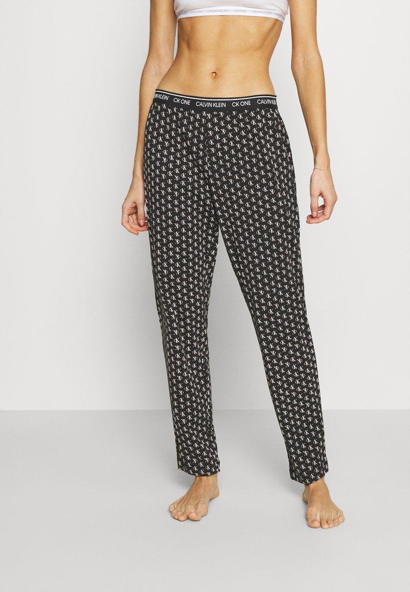 Calvin Klein Underwear - LOUNGE SLEEP PANT - Pyjama bottoms - black