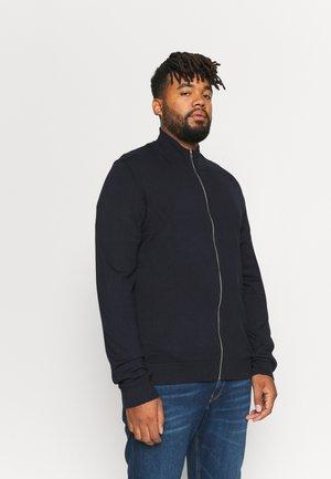 MÉLANGE CARDIGAN  - Zip-up sweatshirt - navy mel