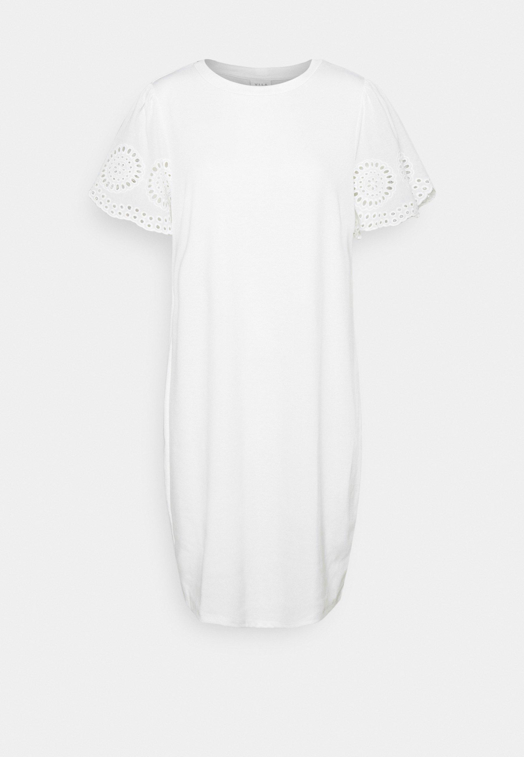 Women VITINNY FLOUNCE DETAIL DRESS - Jersey dress