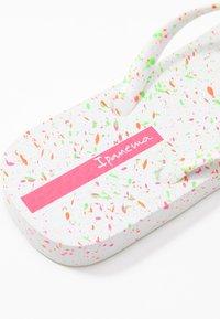 Ipanema - SPLASH - Pool shoes - white/pink - 2