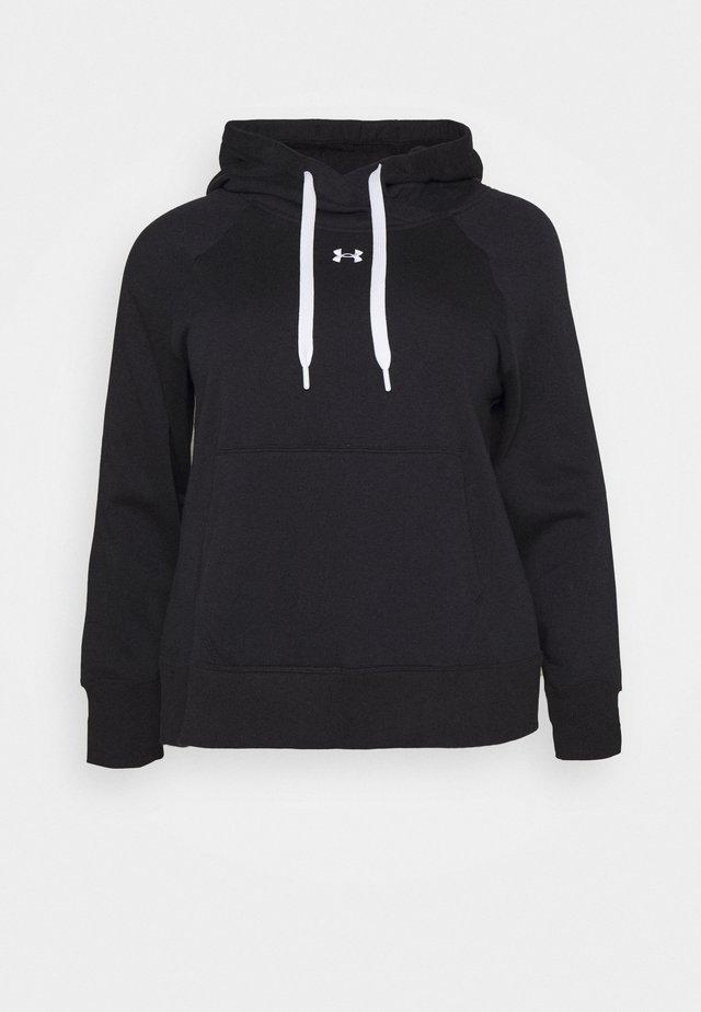 RIVAL HOODIE - Sweatshirt - black