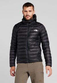 The North Face - TREVAIL HOODIE - Doudoune - black - 0