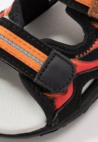Pax - FIREFLY - Walking sandals - black - 2