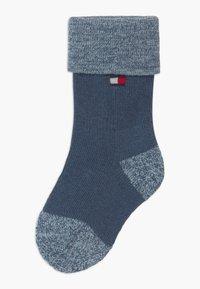 Tommy Hilfiger - FOLD OVER 4 PACK - Ponožky - blue - 1