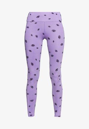 EYE PURPLE - Legginsy - purple