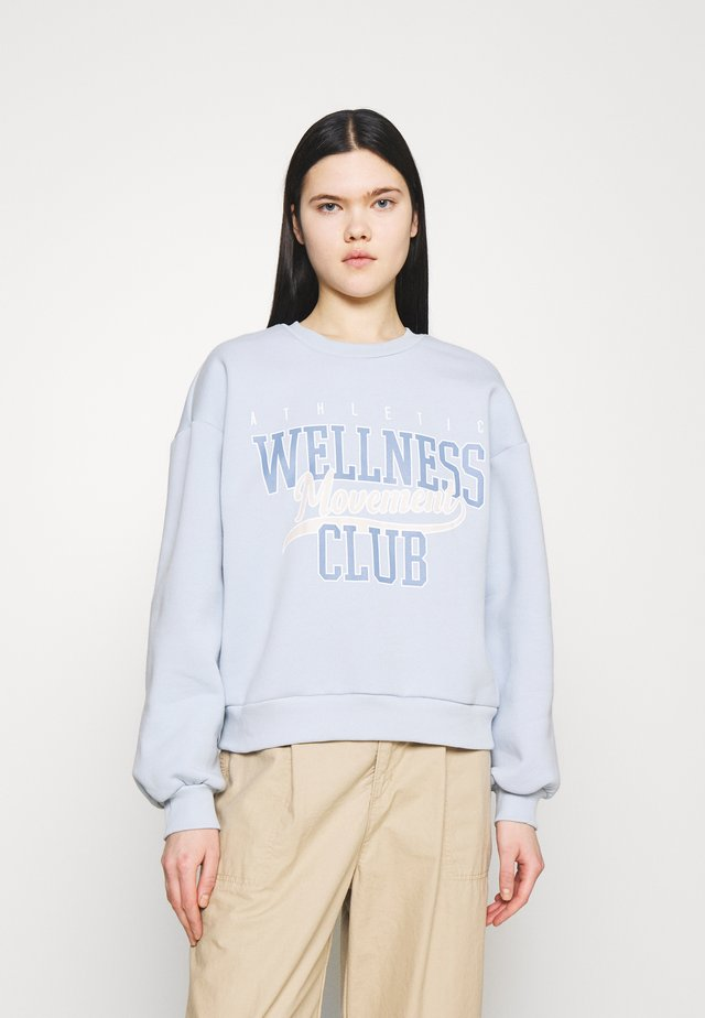 RILEY - Sweatshirt - skyway/wellness