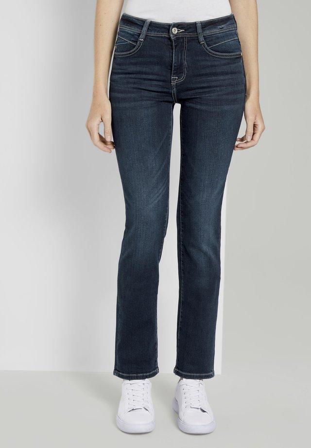 ALEXA  - Jeans a sigaretta - stone wash denim