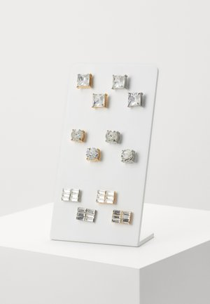 EARRING SET 6 PACK - Earrings - silver-coloured/gold-coloured