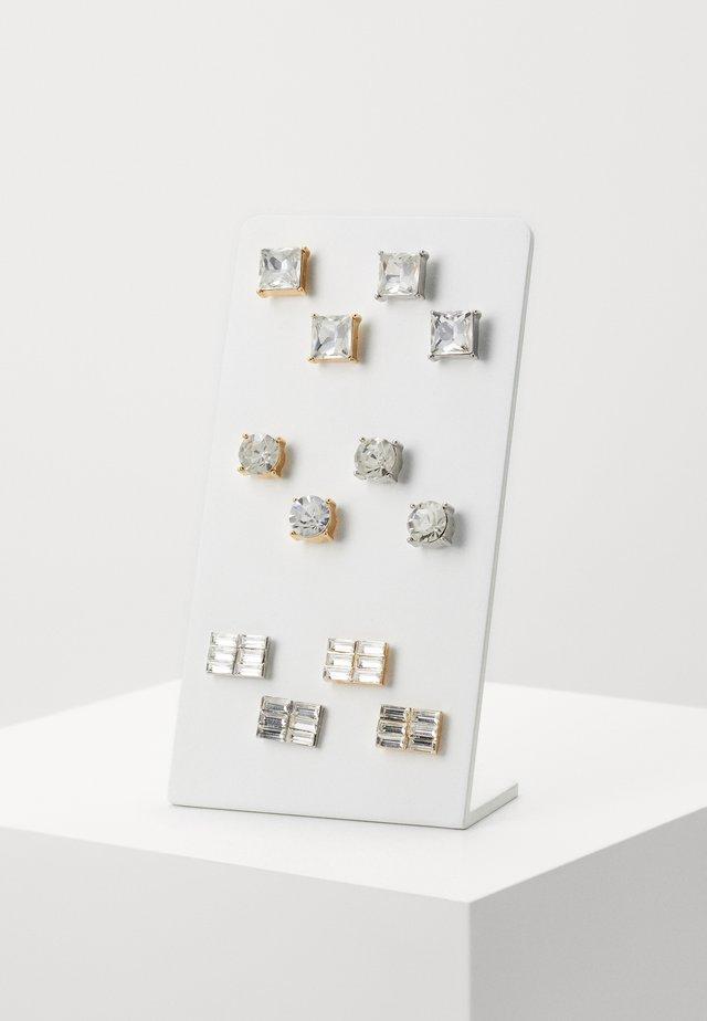 EARRING SET 6 PACK - Orecchini - silver-coloured/gold-coloured