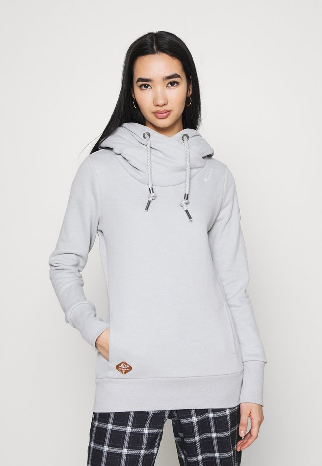 GRIPY BOLD - Sweat à capuche - light grey