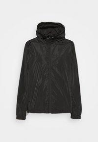 WINDBREAKER DRAWSTRING JACKET - Winter jacket - black