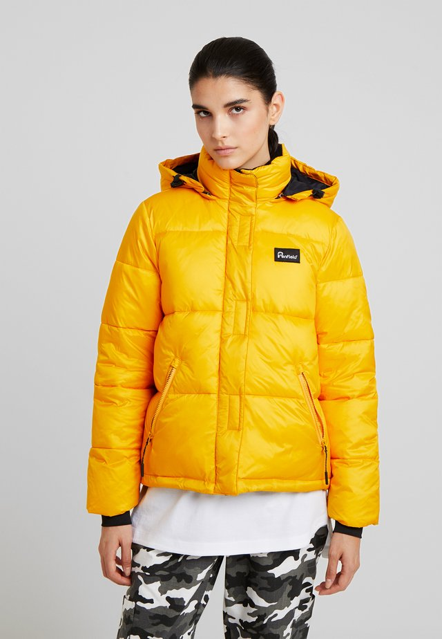 EQUINOX JACKET - Chaqueta de invierno - cadmium yellow