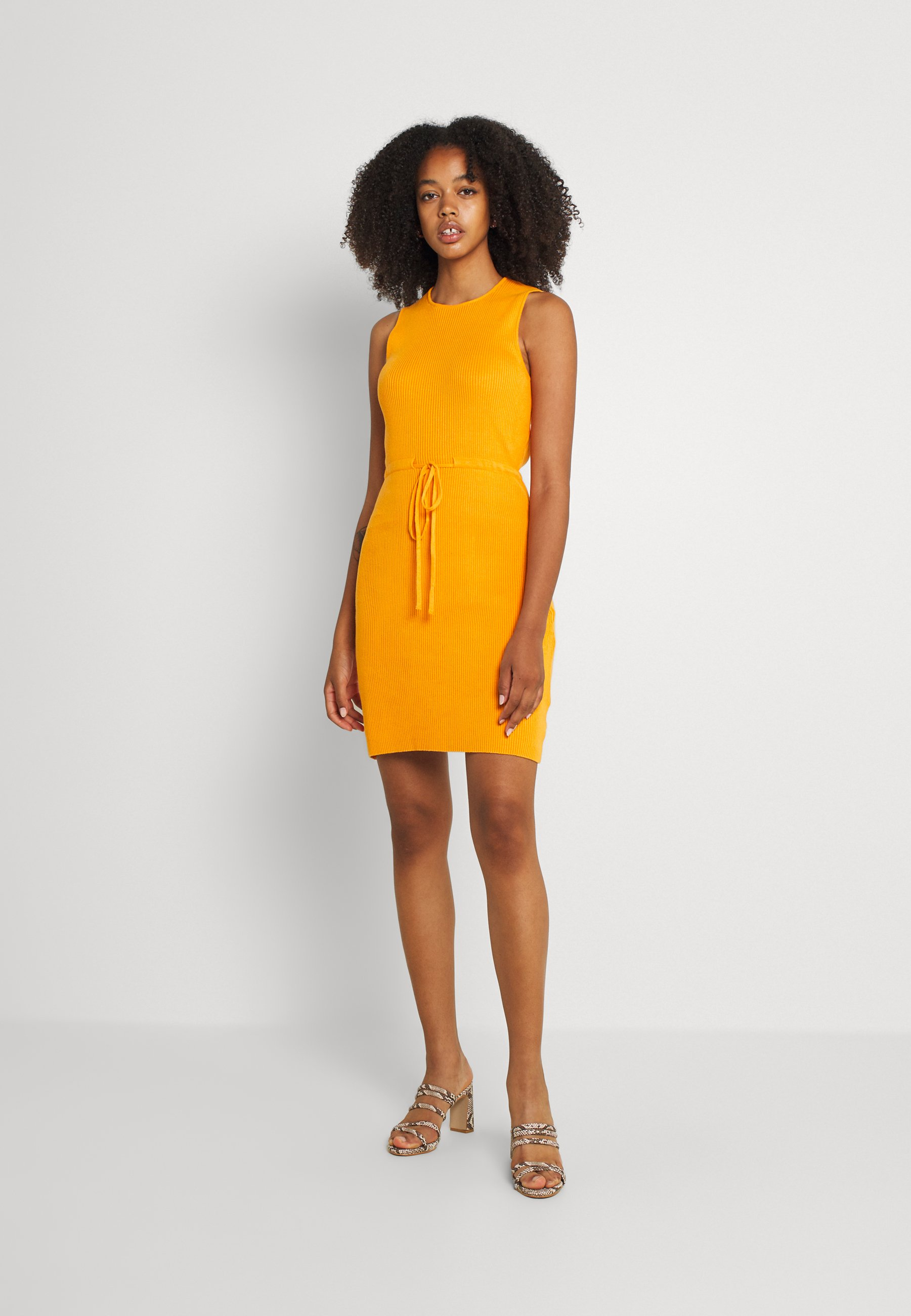Women MINI DRAWSTRING DRESS - Shift dress
